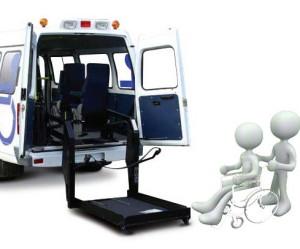 перевезти в инвалидной коляске